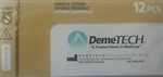 Demegut ABSORBABLE CHROMIC GUT Surgical Suture 3-0 USP 12 Box Demetech Catgut