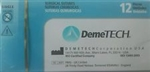 DemeSilk Silk Non Absorbable Surgical Suture 3-0 USP 12 Box Demetech