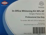 In-Office Chairside Dental Teeth Whitening complete Patient Kit 30% HP Darby