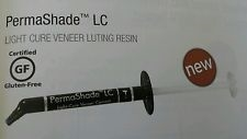 Permashade LC Opaque White Light Cure Veneer Dental Cement Resin Ultradent