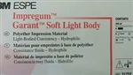3M ESPE Impregum Soft Light Body 4 Cartridges Tips Dental Impression Polyether