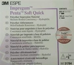 3M ESPE IMPREGUM PENTA SOFT QUICK STEP MEDIUM BODY IMPRESSION MATERIAL