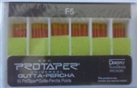 Protaper Universal F5 Gutta Percha Points Dentsply Tulsa Box of 60 Dental Endo