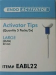 Endoactivator Activator Tips Large Box of 25 Dentsply Tulsa Endo