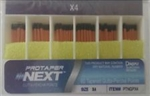 Protaper Next X4 Gutta Percha Points Dentsply Tulsa Dental Root Canal Endo