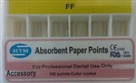 Absorbent Paper Points FF Accessory Box of 180 HTM Dental