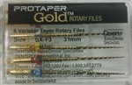 Protaper Gold Rotary Files Dentsply Tulsa Assorted Endodontics Endo All Sizes