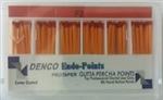 F2 Gutta Percha Points Box of 60 Dental Root Canal Compatible With Protaper