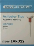 Endoactivator Activator Tips Medium Box of 25 Dentsply Tulsa Endo