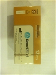 Demetech Dental Medical Surgical Sutures Chromic Gut with Needle Pack of 12