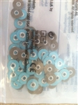 3M ESPE Sof-Lex soflex Discs Super Fine 3/8 inch 9.5mm Bag of 30 Dental