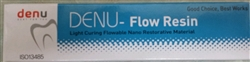 Denu Flow Resin Dental Flowable Composite Double Pack Like 3M Dentsply Kerr, A1, A2, A3, A3.5, B2
