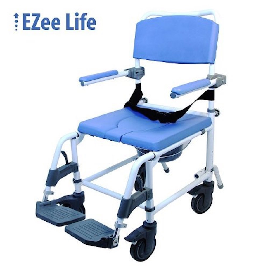 Ezee Life 18 In Shower Commode Chair Shower Commode