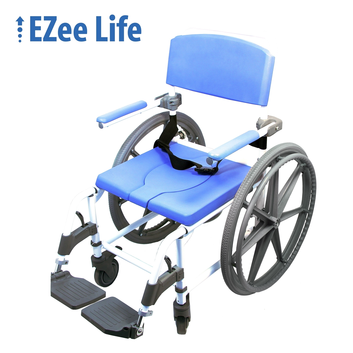 ezee life heavy duty wide shower commode chair shower commode