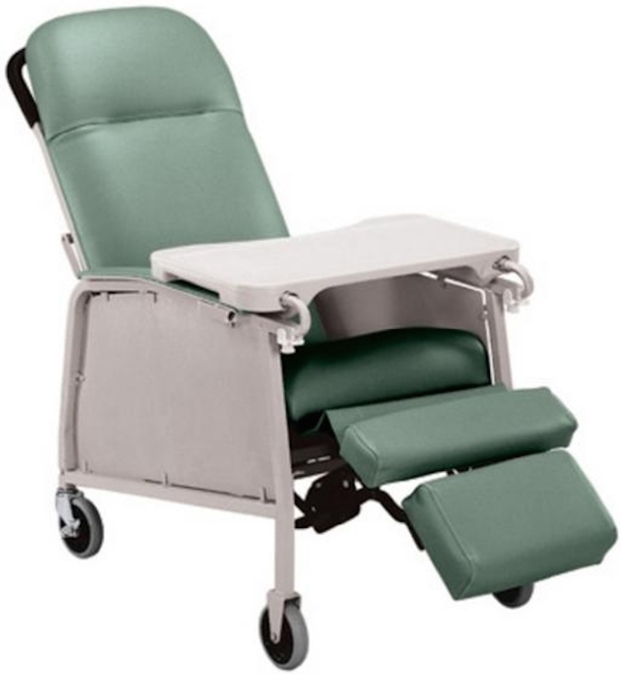 Lumex 3-Position Geriatric Recliner 574G  sc 1 st  Wheelchairs - Electric Mobility Scooters - Lift Chairs & Lumex 3-Position Geriatric Recliner 574G - Lumex Geri Chair islam-shia.org