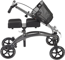 Drive 796 Steerable Knee Walker with Basket