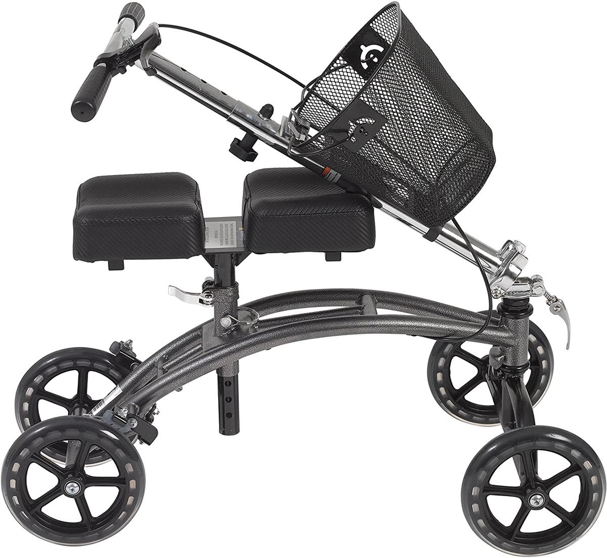 Dv8 steerable knee walker