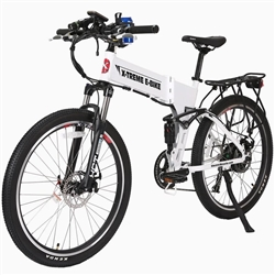 X-Treme Baja 48 Volt 500W Folding Electric Mountain Bike