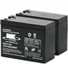 MK - 12V 10AH Sealed AGM (2) Batteries