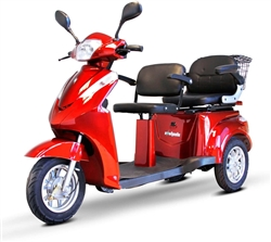 EWheels Electric 3-Wheel 2 Passenger Mobility Scooter - EW-66