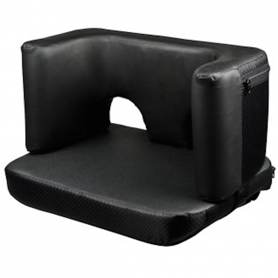 Complete Foot And Heel Support For Wheelchair Padded