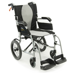 Karman S-Ergo Flight Ultralightweight Transport Wheelchair