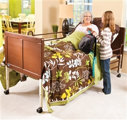 Invacare Carroll CS3 Hi-Low Hospital Bed Set Package