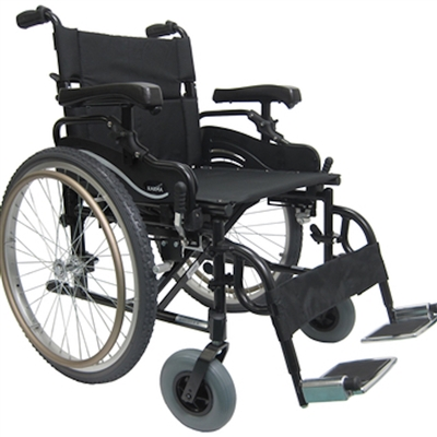 Karman KM-8520-W Lightweight Bariatric Wheelchair