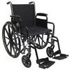 Karman LT-700T Desk Length Detachable Lightweight Wheelchair