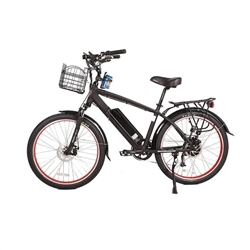 X-Treme Laguna 48V 500W Li Beach Cruiser - Throttle, Pedal Assist, Full Suspension, Disc Brakes, Aluminum