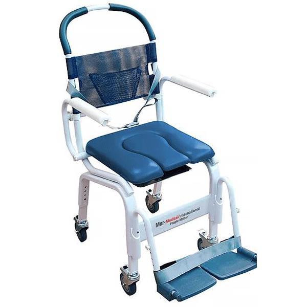 Mor-Medical Euro Deluxe Rehab Shower Commode Chair  sc 1 st  Wheelchairs & Mor-Medical Euro Deluxe Rehab Shower Commode Chair | Shower Commode ...