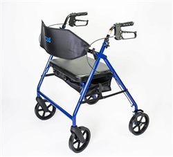 MOBB Ultra Heavy Duty Bariatric Aluminum Rollator w/ 500 lbs Weight Capacity
