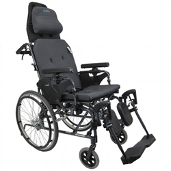 Karman Healthcare V-Seat Ultimate Luxury Manual Reclining Wheelchair