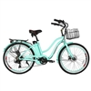 X-Treme Malibu Beach Cruiser Electric Bicycle