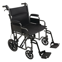 Heavy-Duty Bariatric Transport Chair