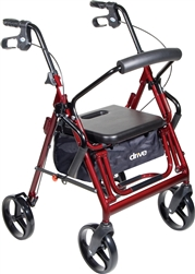 Drive Duet Rollator - Transport Chair Combo