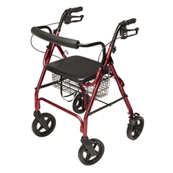 Lumex Walkabout Junior Four-Wheel Rollator