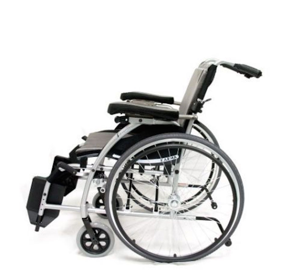 karman s-106 ergonomic self recline wheelchair - lightweight semi