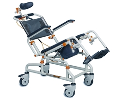 ShowerBuddy Roll-InBuddy Commode Chair with Tilt