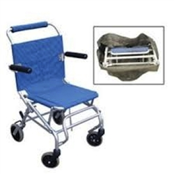 Drive Super Light Folding Transport Chair With Carry Bag