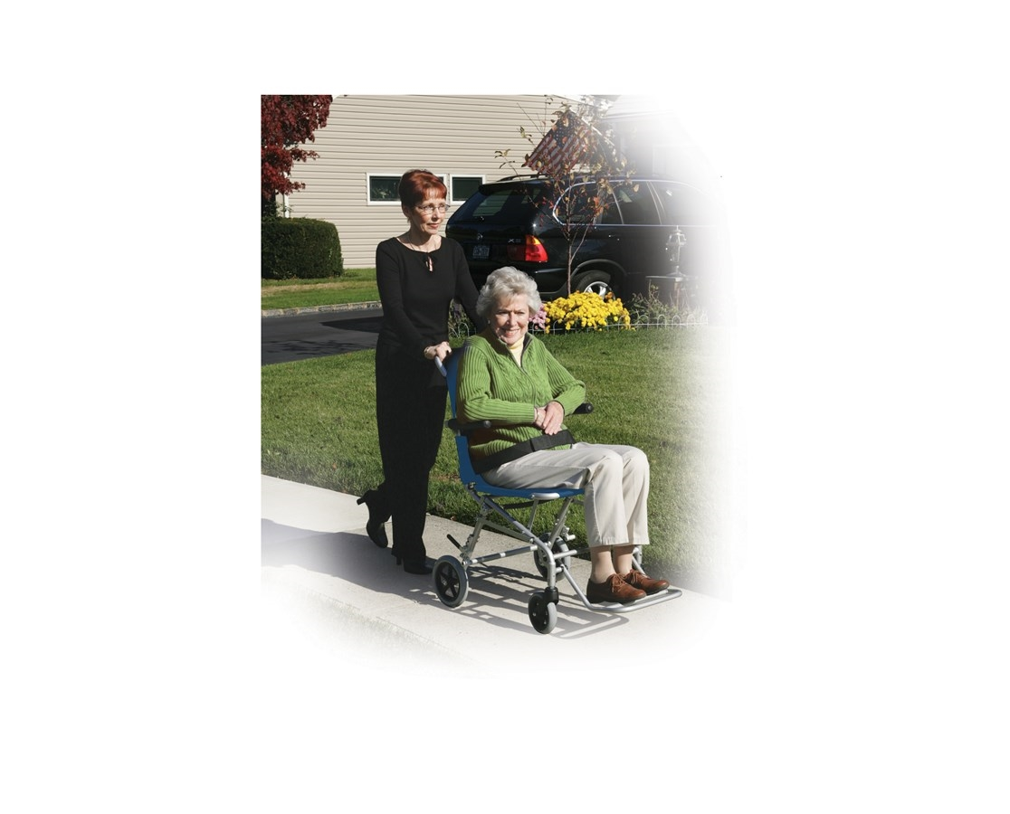Drive Super Light Folding Transport Chair With Carry Bag – Drive Fly Lite Transport Chair