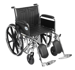 Sentra EC Heavy Duty Dual Axle Wheelchair
