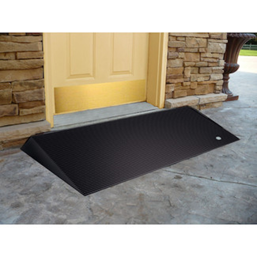 Ez Access Rubber Threshold Ramp With Beveled Edges Wheelchair