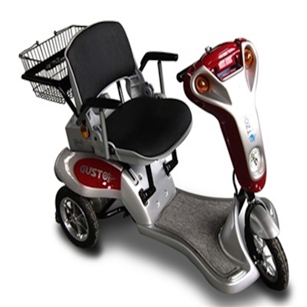 Tzora Titan 3 Wheel Electric Scooter 3 Wheel Full Size Scooter