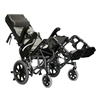 Karman Healthcare Tilt-in-Space Foldable Transport Wheelchair