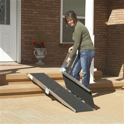 PVI Multi-Fold Wheelchair Ramp - 5 to 8 Feet