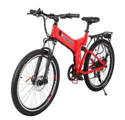 X-Treme - 2015 X-Cursion Folding Electric Mountain Bicycle