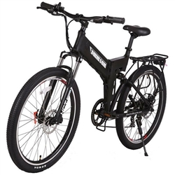 X-Treme X-Cursion Elite 24 Volt 300W Folding Electric Mountain Bike