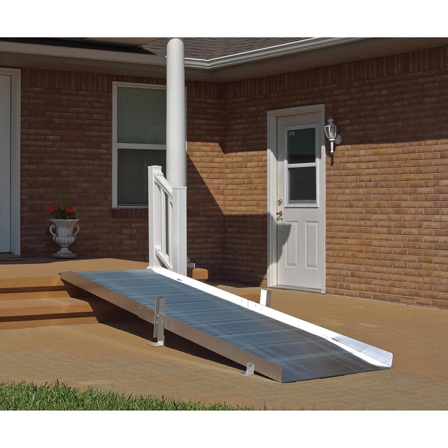 Pvi ontrac wheelchair ramp 3 to 10 feet wheelchair ramps for Wheelchair home