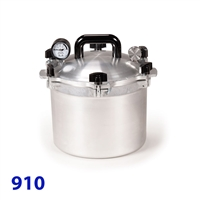 All American 10 1/2 Quart Pressure Canner Model 910